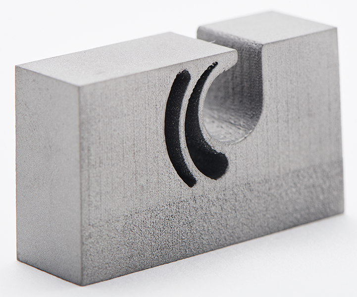 3D printing enables the construction of elastic functional elements directly in the split line