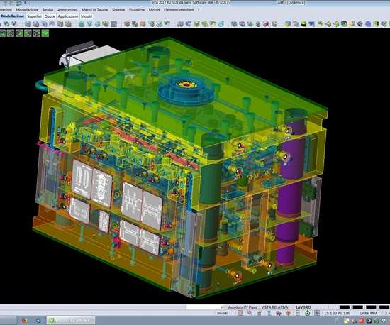 VISI software for mold design and analysis