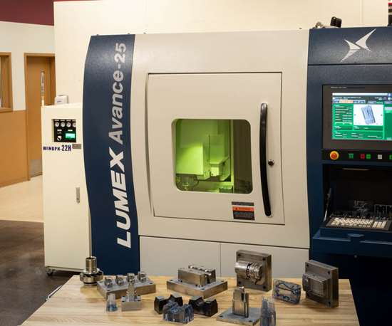 hybrid additive machine from Matsuura