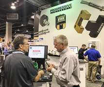 Progressive Components' booth at Amerimold 2017