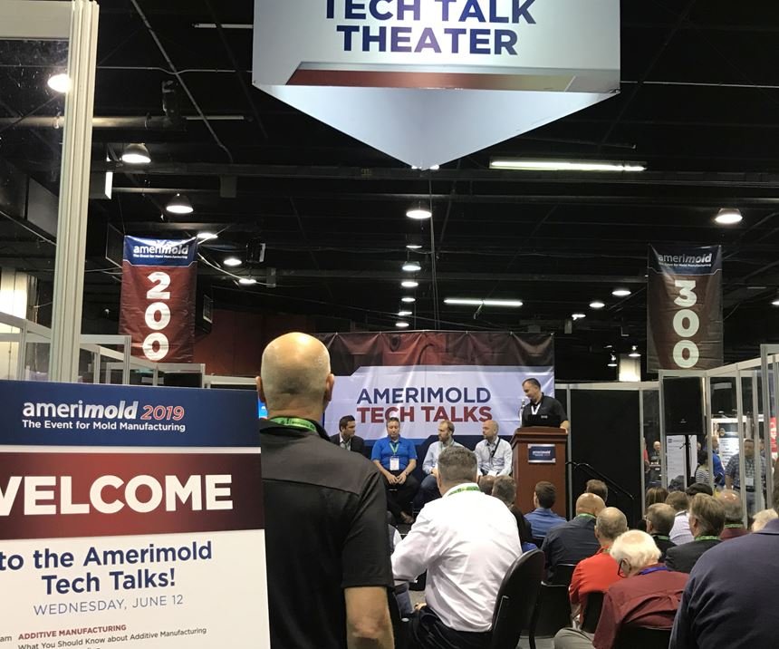 Additive Manufacturing panel discussion at Amerimold 2019