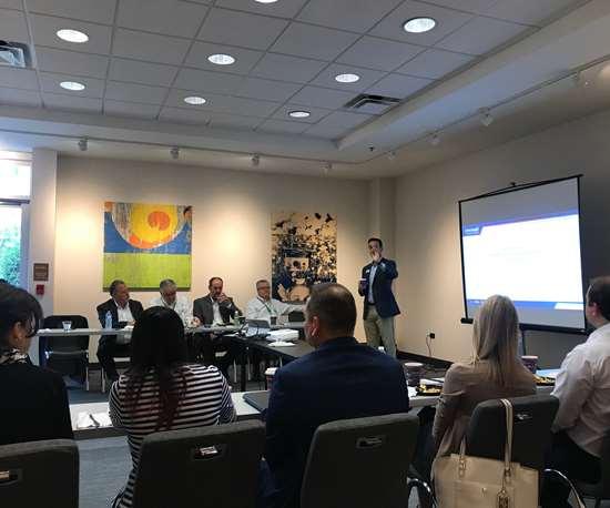 Sales meeting at Amerimold 2019