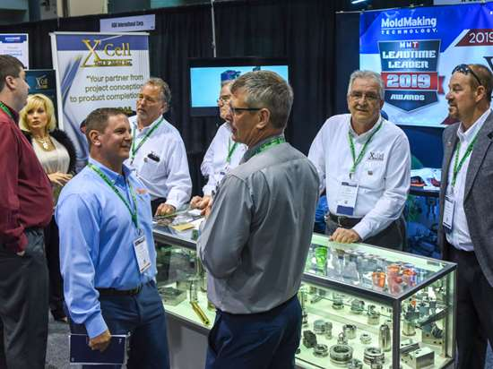 X-Cell Tool and Mold at its booth during Amerimold 2019