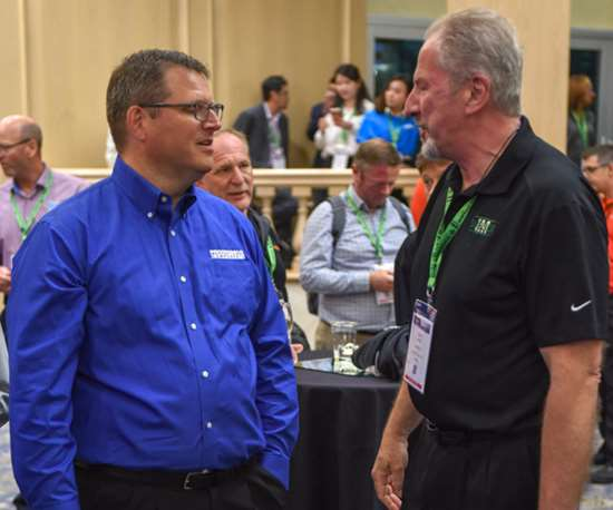 Todd Steinhoff of Progressive Components and John Berg of Sussix IM