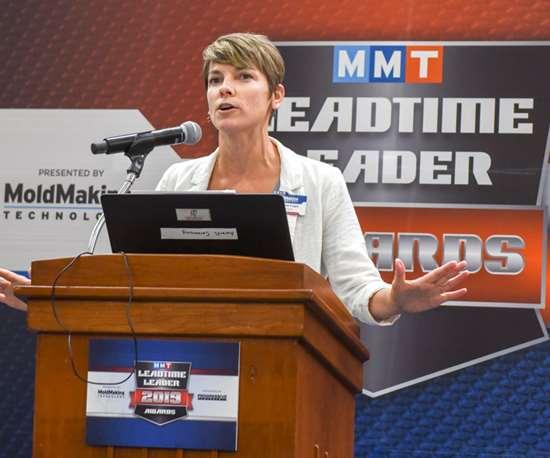 MoldMaking Technology Magazine's Editorial Director Christina Fuges