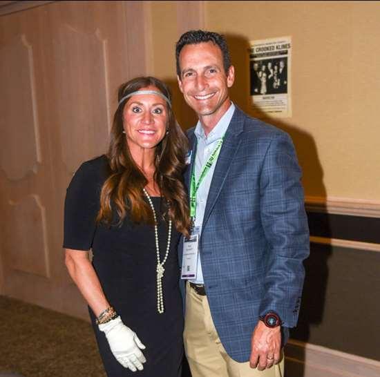 Allison Kline Miller and Ryan Delahanty at Amerimold 2019