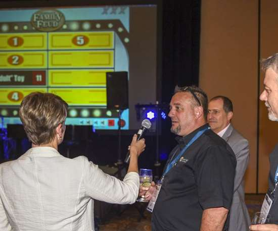Family Feud at Amerimold 2019