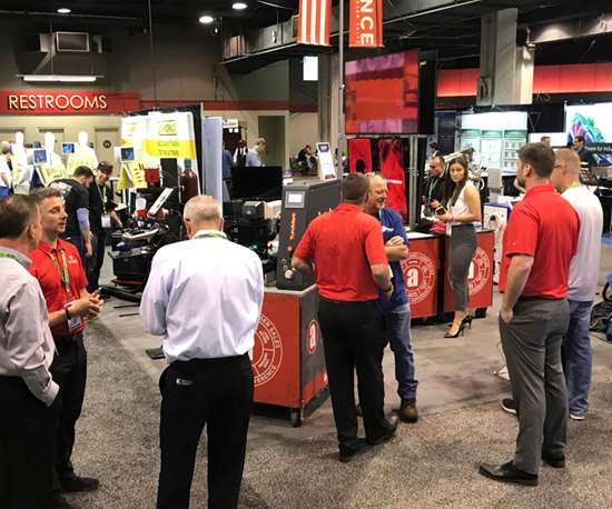 Alliance Specialties and  Laser Sales at Amerimold 2019