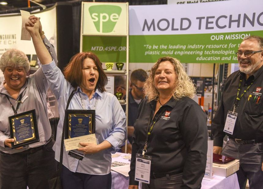 SPE Mold Technologies Division Honorees for 2019
