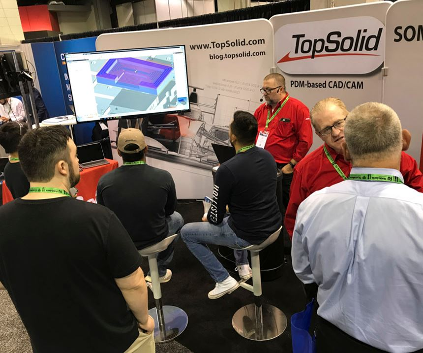 Top Solid/Missler Software at Amerimold 2019