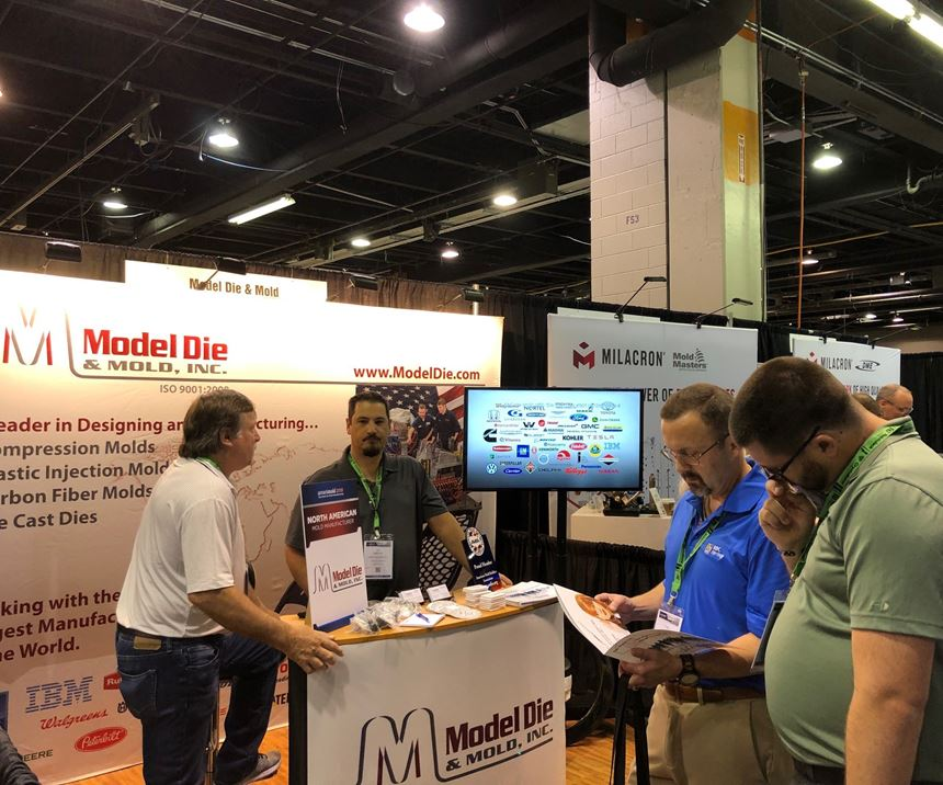 Model Die and Mold at Amerimold 2019