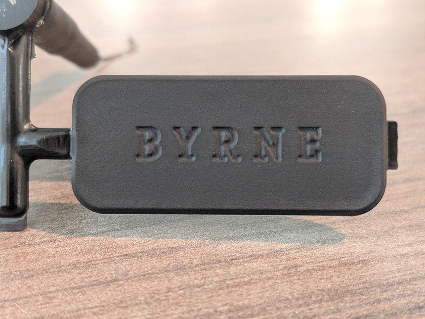 3D printed badge