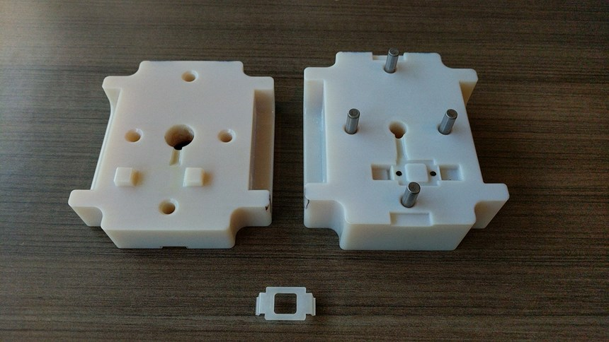 3D printed mold and part