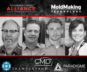 PODCAST: 3-in-1 Moldmaking Force Always Looking for Problems ... to Solve