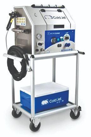 Cold Jet Dry Ice Blasting system