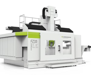 Zimmermann FZ33 Compact milling machine for moldmaking.