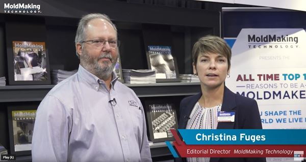 VIDEO: Custom Mold & Design Talks Hybrid Additive Manufacturing  image