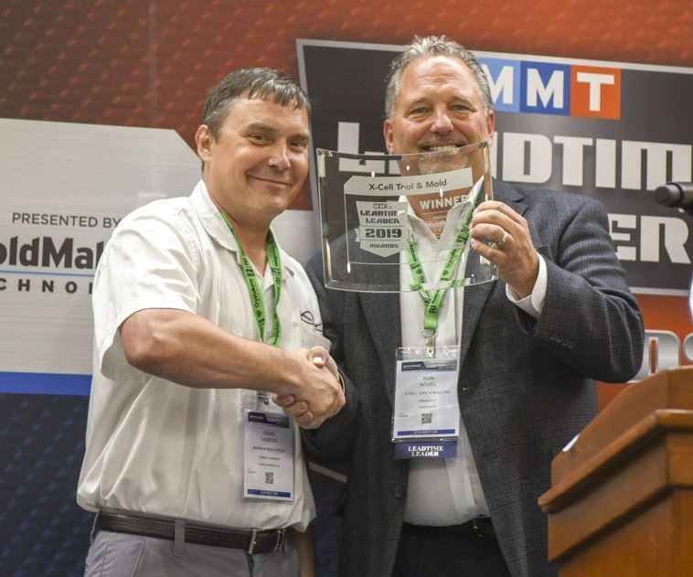 Dave LaGrow, Maximum Mold Group, with Ron Novel of X-Cell Tool and Mold