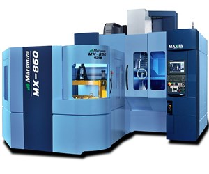 Matsuura MX-850 PC4 five-axis VMC