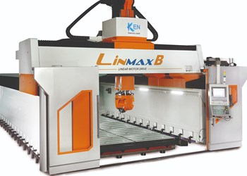 Linear Five-Axis Machining Center Minimizes Crossbeam Deformation