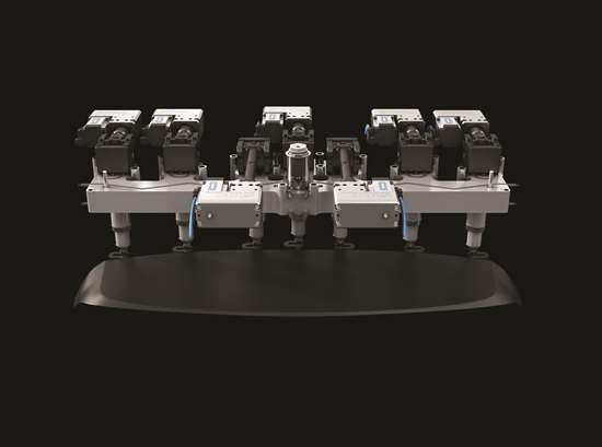 servo-controlled valve gate hot runner system from HRS Flow