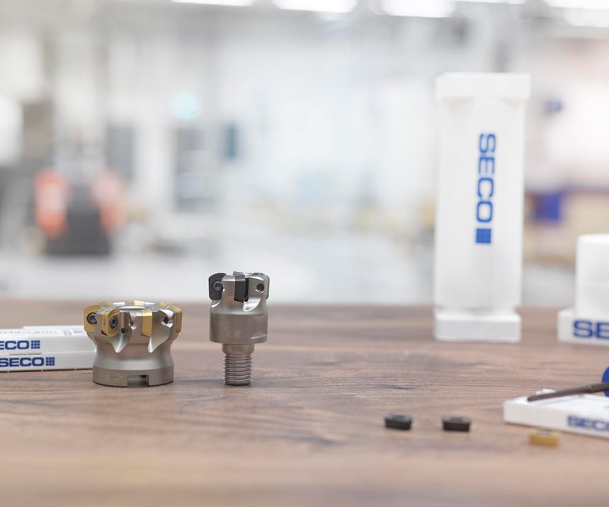 Seco Tools new LP09 inserts for face milling