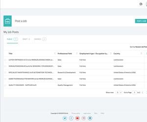 post a job web page