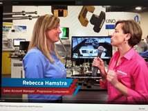 Christina Fuges interviews Rebecca Hamstra of Progressive Components