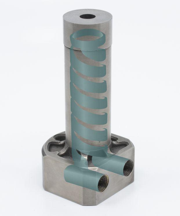 CAD of DMLS conformal-cooled core