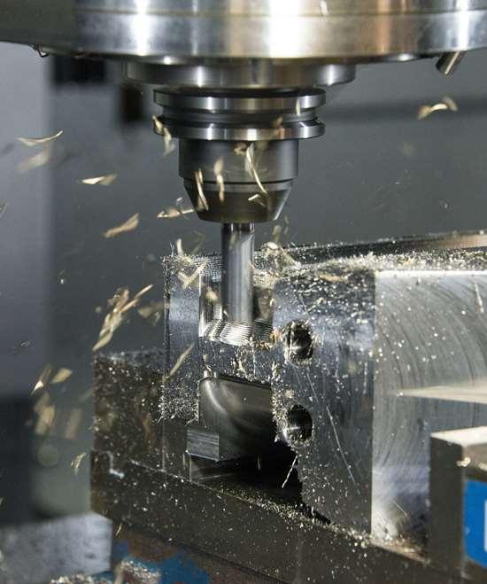 Machining metal