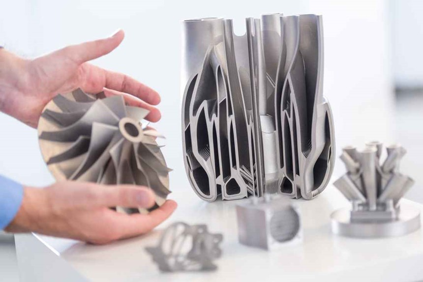 Trumpf's TruPrint metal 3D printers support the production of complex parts using laser metal fusion (LMF) technology