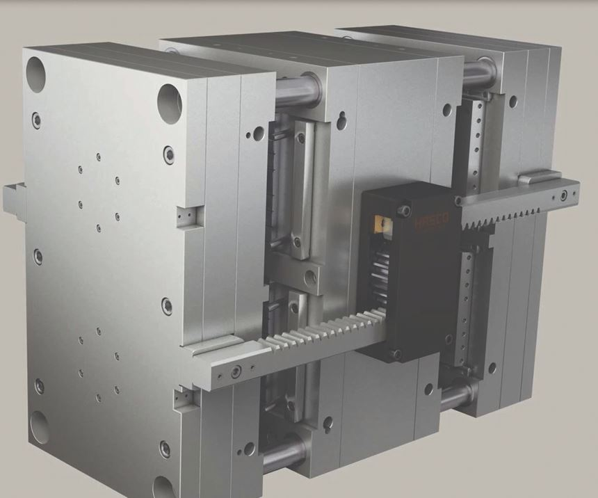 Hasco stack mold system with standardized components