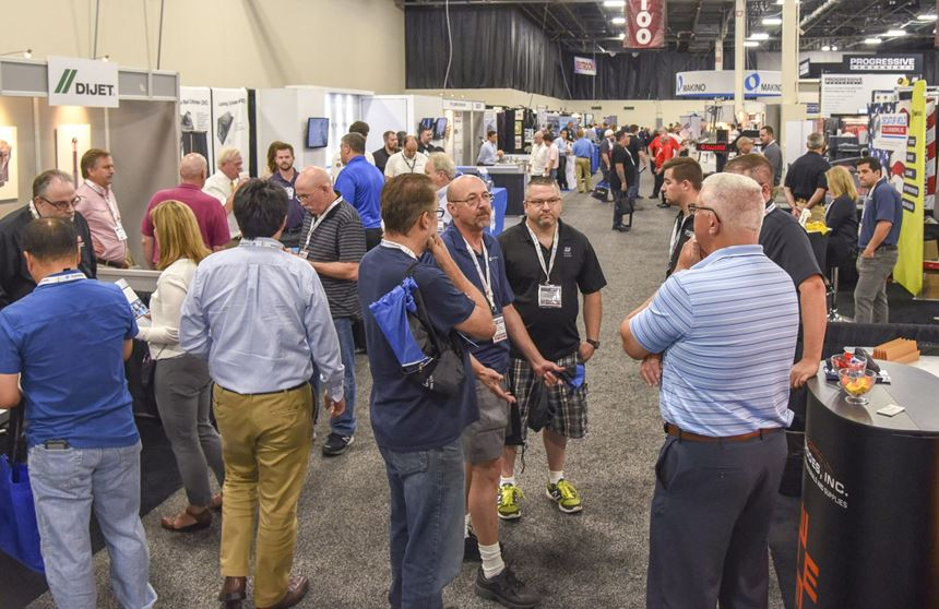 Show floor from Amerimold 2018