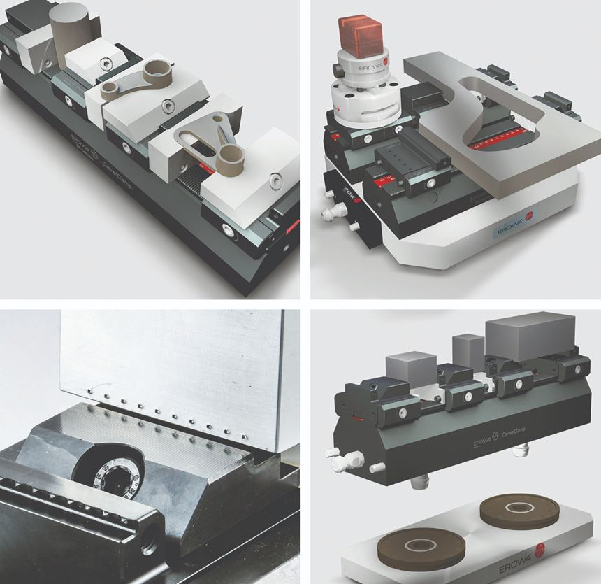 Erowa clamping solutions