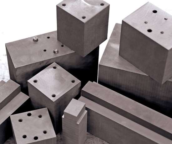 Graphite blocks available from 3D Graphite and Machining.