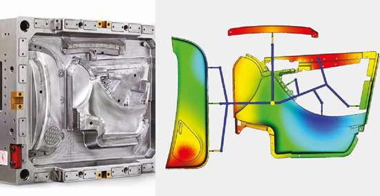 Flexflow technology for automotive door panels from HRSflow.