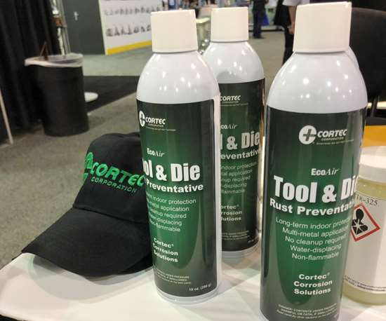 Cortec Corp. Eco Air Tool and Die Rust Preventative for molds