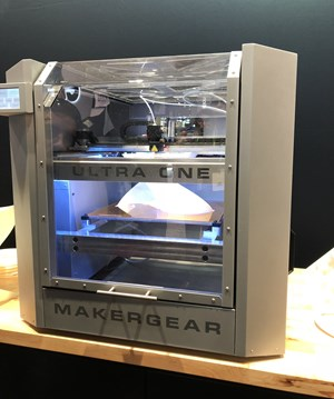 Makergear Ultra One 3d printer