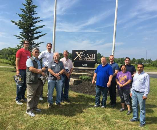 Teachers who toured X-Cell Tool and Mold's facility in 2018