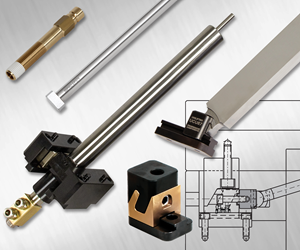 Group of standard mold components from Progressive Components