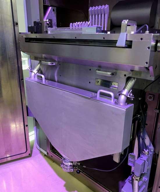 Inside view of GF Machining Solutions DMP Flex 350