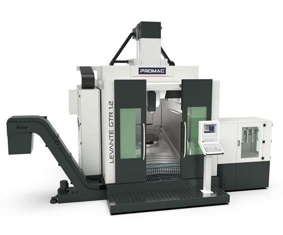 Promac Levante GTR 1.2 six-axis machining center