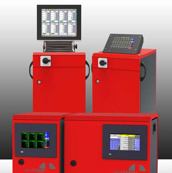 Thermal-Tech Systems Inc. ProfiTemp+ hot runner control system.