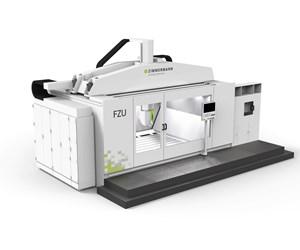 Zimmermann FZU universal milling machine for moldmaking.