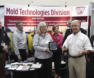 SPE Mold Technologies Division's 2018 MoldMaker of the Year