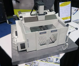 Zimmermann FZ40 Compact milling machine at Amerimold 2019