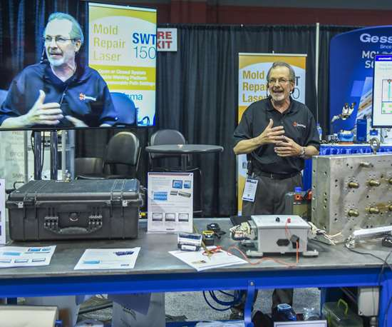 MoldTrax LLC at Tool Shop Live! during Amerimold 2019