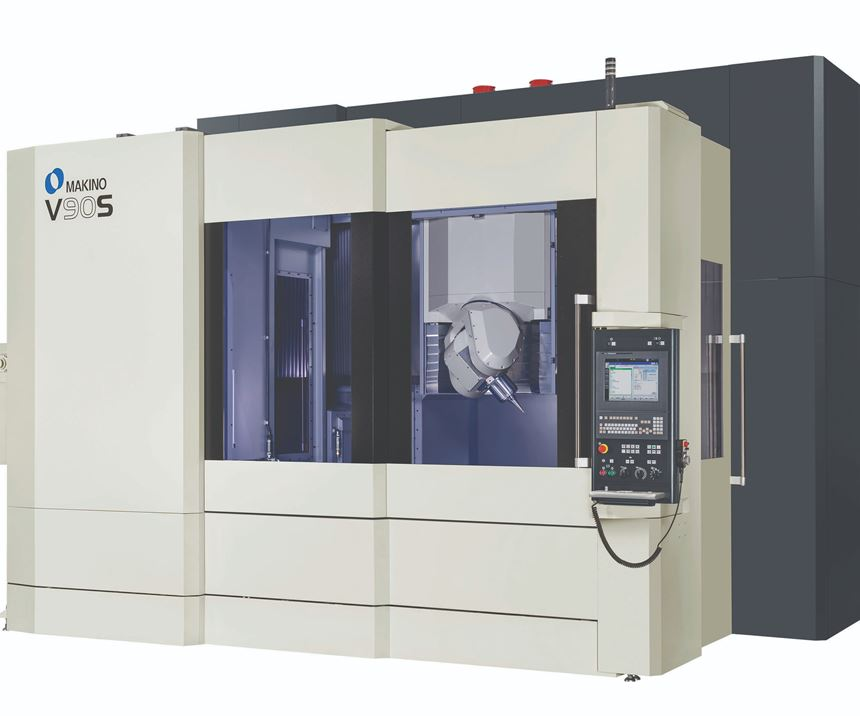 Makino V90S machining center