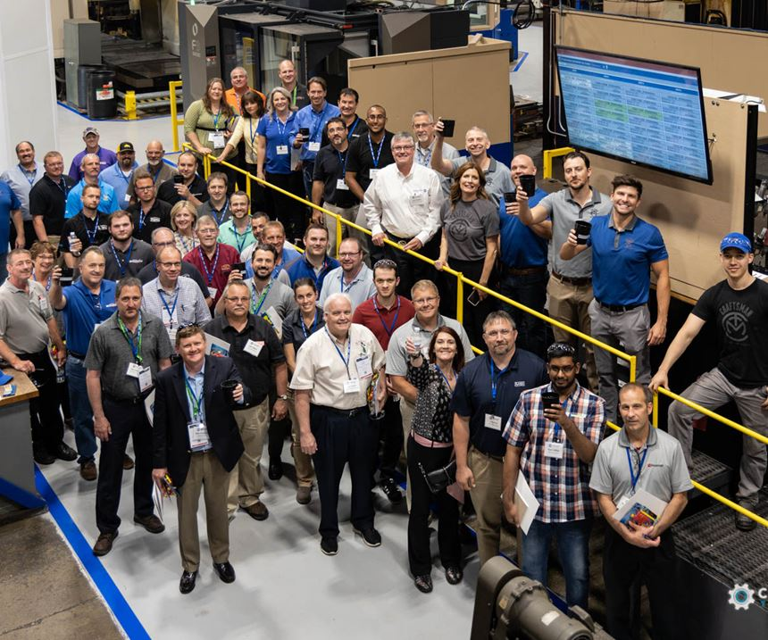 AMBA Plant Tour at Amerimold 2019 - Craftsman