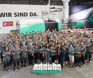 85 Trainees and Students Begin Apprenticeship at Arburg